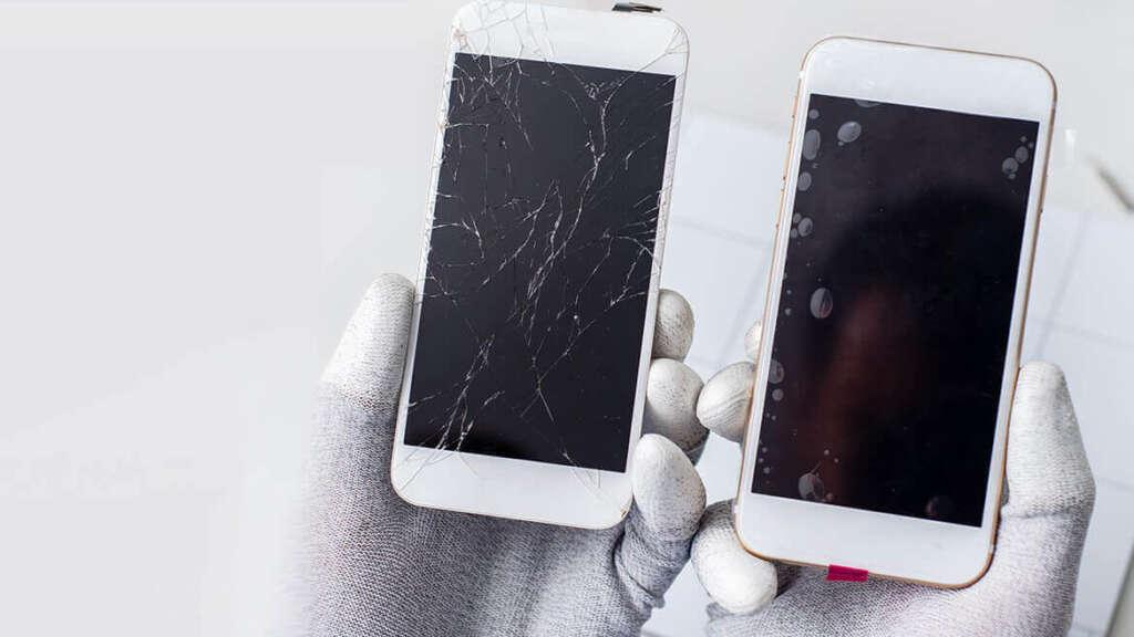cracked cell phone screen repair